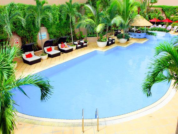 Thiết kế công trình cảnh quan khách sạn Caravelle Sài Gòn
