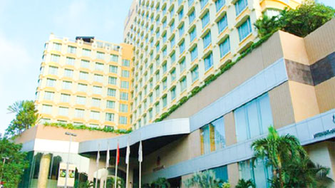 Cảnh quan New World Saigon Hotel