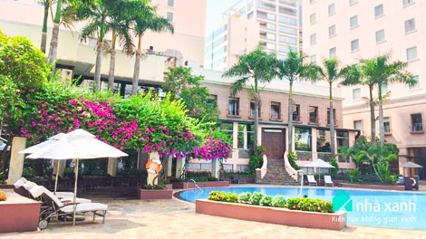 Công trình của Nhà xanh Lotte Legend Hotel Saigon