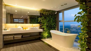 Tường cây Penthouse Đảo Kim Cương