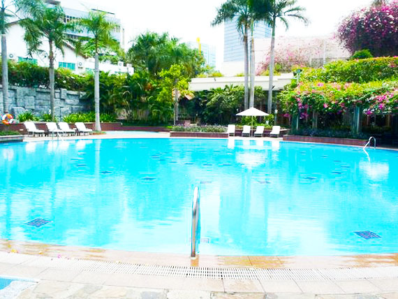 Bố trí cảnh quan Lotte Legend Hotel Saigon