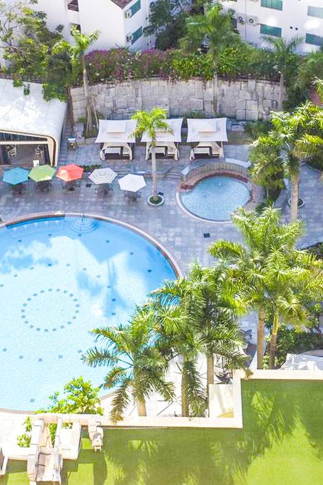 Bố trí Lotte Legend Hotel Saigon