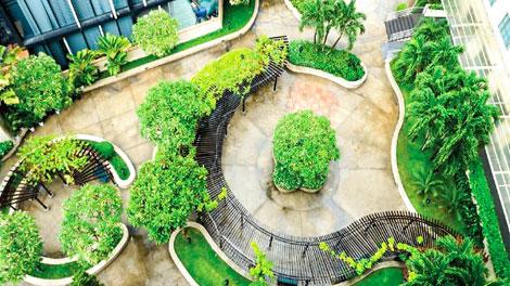 Cây xanh New World Saigon Hotell