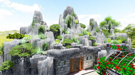 Khu nghỉ dưỡng Bình Phước của Nhà Xanh