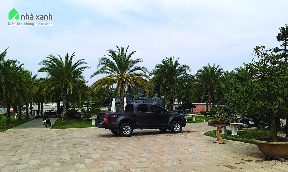 Update công trình cảnh quan Khu nghỉ dưỡng gia đình Bình Phước